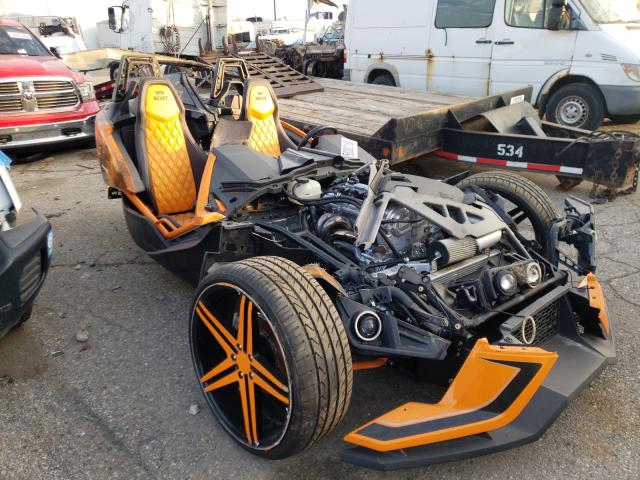 Salvage cars for sale from Copart Woodhaven, MI: 2019 Polaris Slingshot