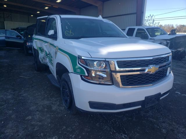 Salvage cars for sale from Copart Houston, TX: 2018 Chevrolet Tahoe Police