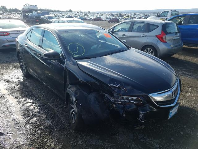 Acura TLX Tech Vehiculos salvage en venta: 2017 Acura TLX Tech