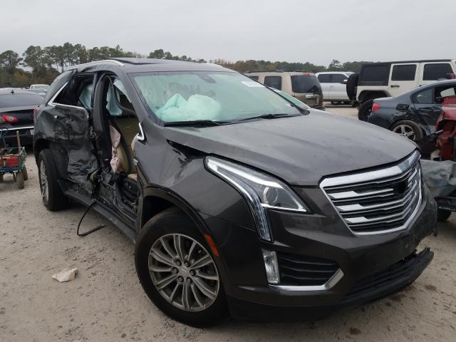 Salvage cars for sale from Copart Houston, TX: 2019 Cadillac XT5 Luxury