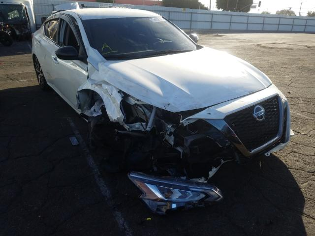 Nissan salvage cars for sale: 2020 Nissan Altima SR