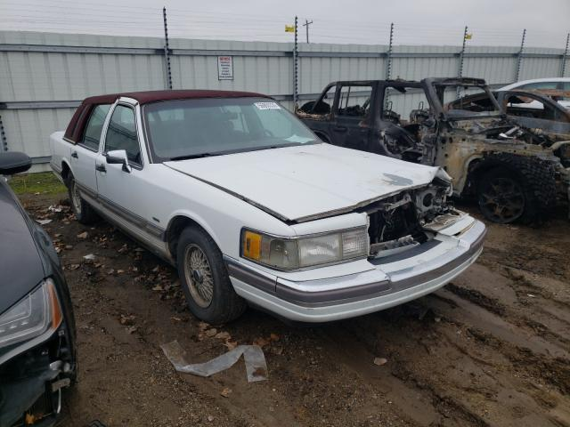 Lincoln Town Car salvage cars for sale: 1990 Lincoln Town Car