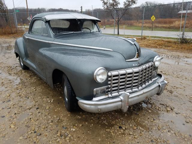 Salvage cars for sale from Copart Madison, WI: 1947 Dodge Coupe