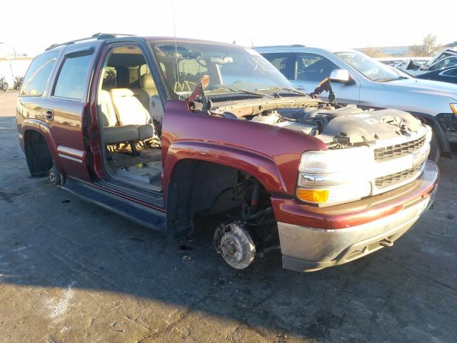 Salvage cars for sale from Copart Tulsa, OK: 2002 Chevrolet Tahoe K150