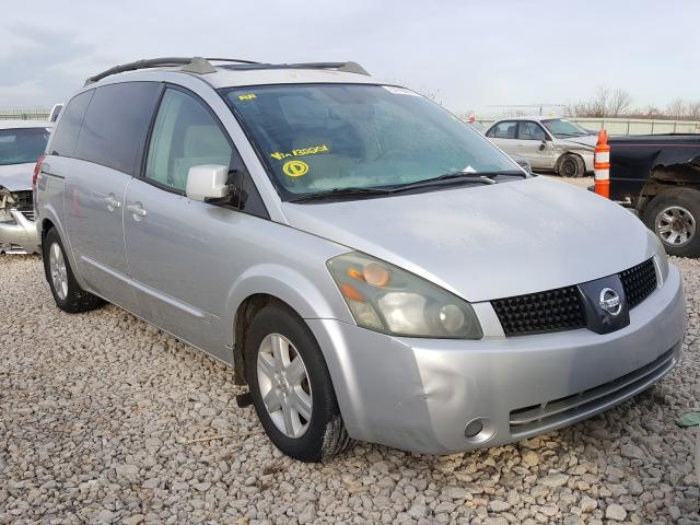 Nissan Quest salvage cars for sale: 2005 Nissan Quest