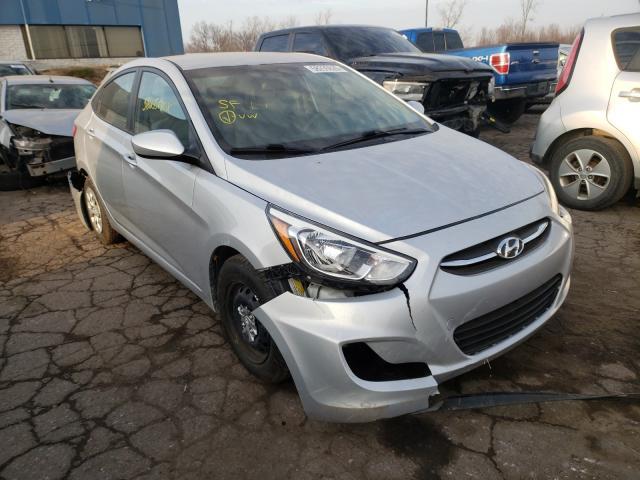 Hyundai Accent salvage cars for sale: 2017 Hyundai Accent