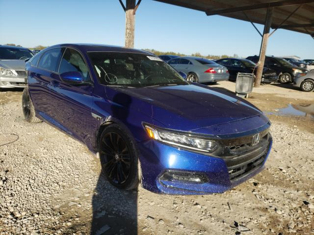Salvage cars for sale from Copart Temple, TX: 2020 Honda Accord Sport