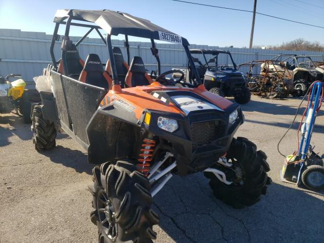 Salvage cars for sale from Copart Oklahoma City, OK: 2014 Polaris RZR 4 900