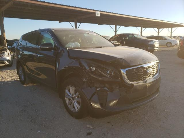 Salvage cars for sale from Copart Temple, TX: 2019 KIA Sorento L