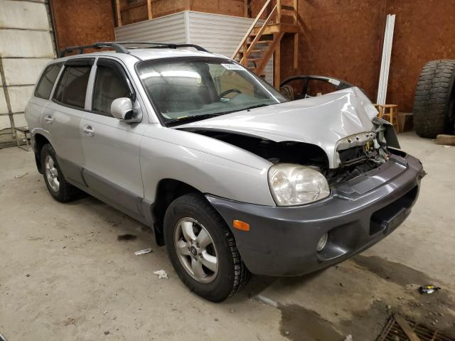 Salvage cars for sale from Copart Ebensburg, PA: 2005 Hyundai Santa FE