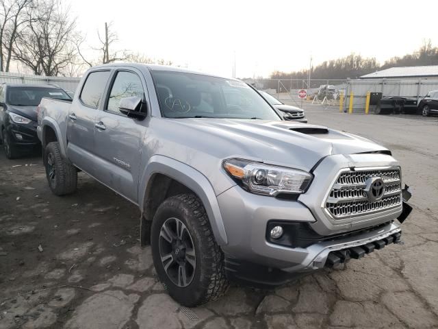 Salvage cars for sale from Copart West Mifflin, PA: 2017 Toyota Tacoma DOU