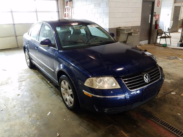 Salvage cars for sale from Copart Sandston, VA: 2005 Volkswagen Passat GLS