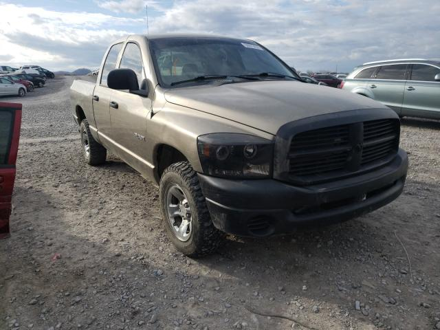 Salvage cars for sale from Copart Madisonville, TN: 2008 Dodge RAM 1500 S