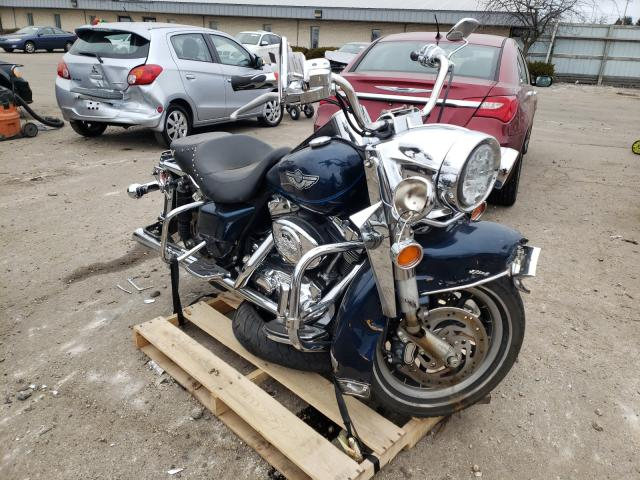 Salvage cars for sale from Copart Cudahy, WI: 2003 Harley-Davidson Flhr