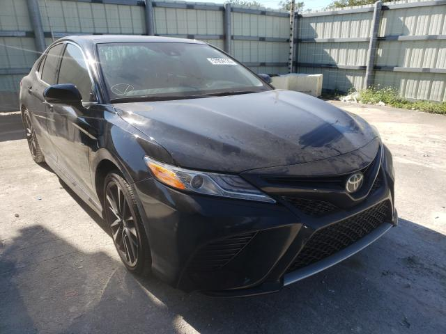 Salvage cars for sale from Copart Homestead, FL: 2020 Toyota Camry XSE