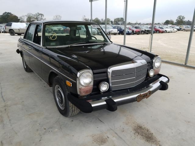 Salvage cars for sale from Copart Newton, AL: 1975 Mercedes-Benz 240D