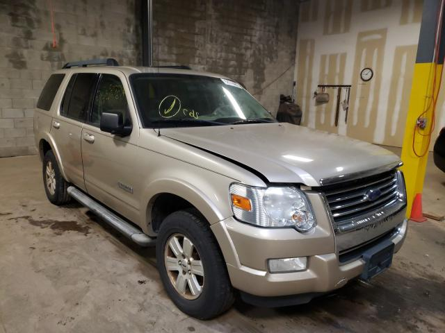 Salvage cars for sale from Copart Chalfont, PA: 2007 Ford Explorer X