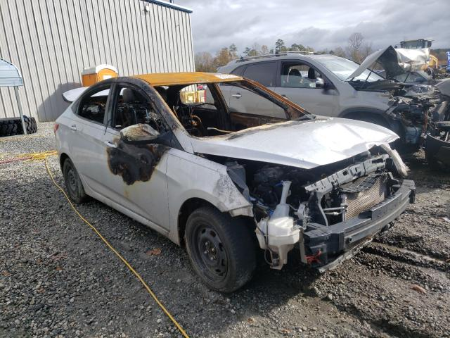 Salvage cars for sale at Spartanburg, SC auction: 2017 Hyundai Accent SE