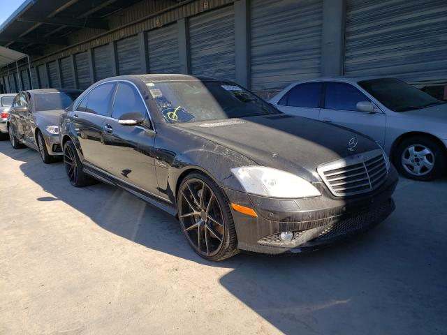 Salvage cars for sale from Copart Hayward, CA: 2009 Mercedes-Benz S 63 AMG