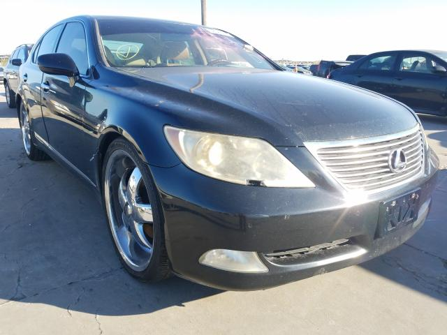 Salvage cars for sale from Copart Grand Prairie, TX: 2007 Lexus LS 460