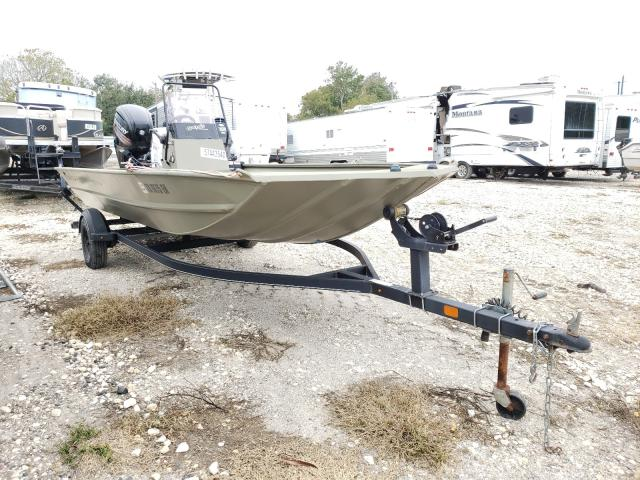 Salvage cars for sale from Copart Corpus Christi, TX: 2017 Tracker Johnboat