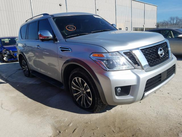 Nissan salvage cars for sale: 2018 Nissan Armada SV