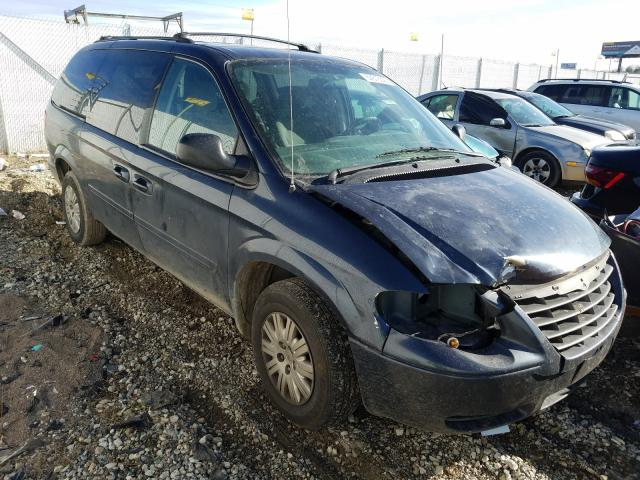 Salvage cars for sale from Copart Cicero, IN: 2007 Chrysler Town & Country