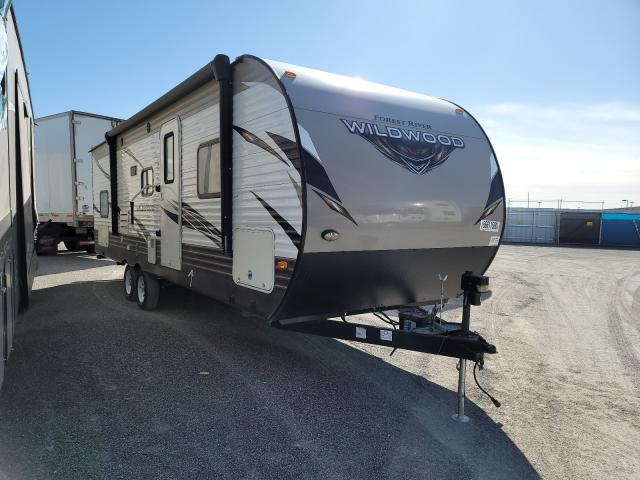 Salvage cars for sale from Copart Anthony, TX: 2018 Wildcat 28 Trailer