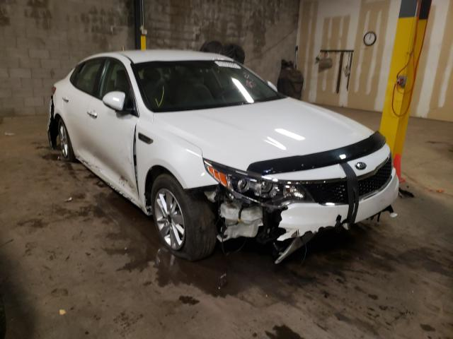 Salvage cars for sale from Copart Chalfont, PA: 2016 KIA Optima LX