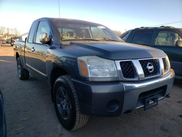 Salvage cars for sale from Copart Hillsborough, NJ: 2005 Nissan Titan XE