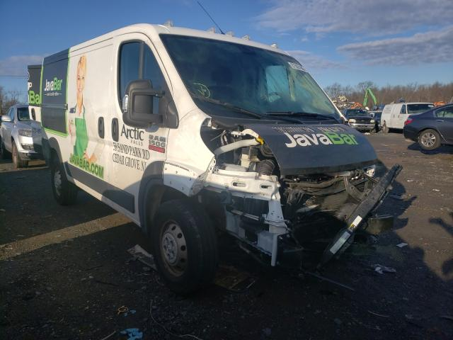 Salvage cars for sale from Copart Hillsborough, NJ: 2019 Dodge RAM Promaster
