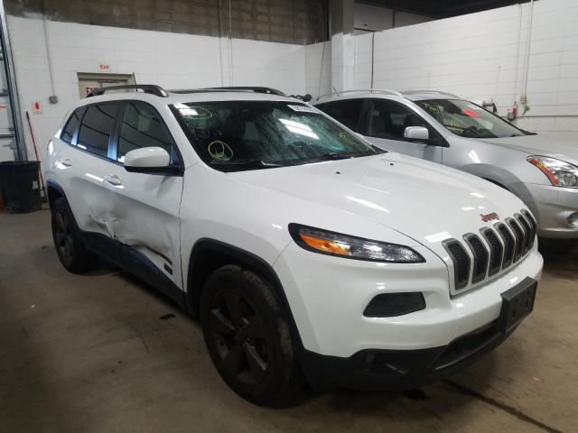 Jeep salvage cars for sale: 2017 Jeep Cherokee L