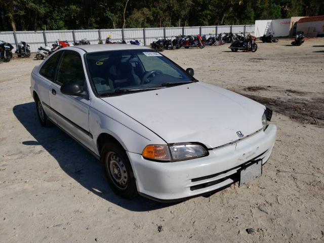 Honda Civic DX salvage cars for sale: 1994 Honda Civic DX