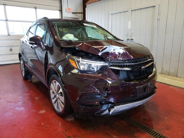Buick Encore salvage cars for sale: 2017 Buick Encore
