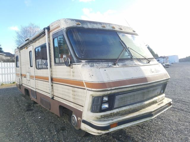 Salvage cars for sale from Copart Graham, WA: 1985 Sunnybrook Motorhome