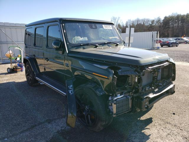 Salvage cars for sale from Copart Fredericksburg, VA: 2020 Mercedes-Benz G 63 AMG
