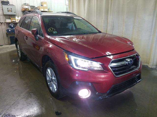 Salvage cars for sale from Copart Avon, MN: 2019 Subaru Outback 2