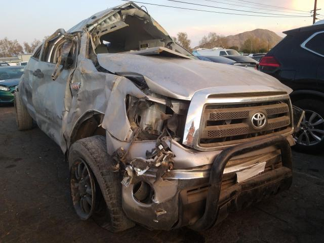 Salvage cars for sale from Copart Colton, CA: 2012 Toyota Tundra DOU