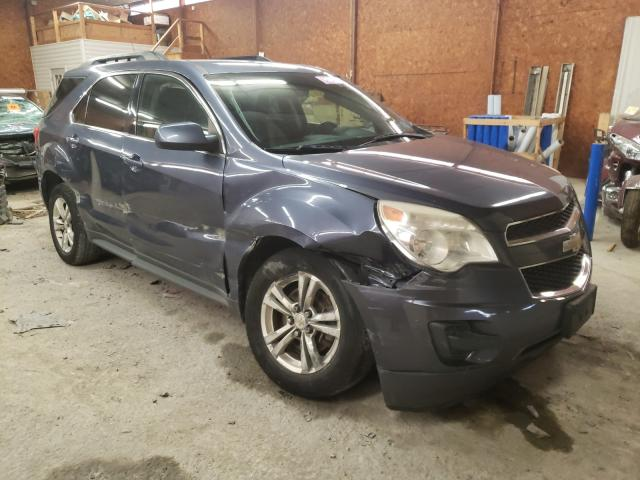 Salvage cars for sale from Copart Ebensburg, PA: 2013 Chevrolet Equinox LT