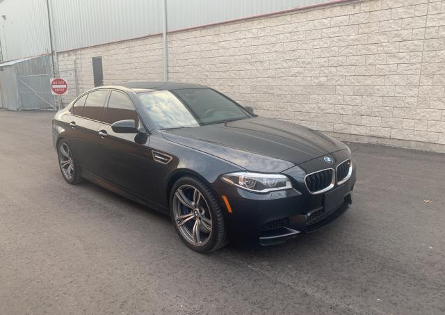 Salvage cars for sale from Copart Courtice, ON: 2014 BMW M5