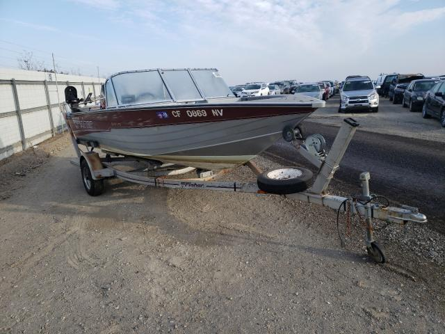 Fishmaster Boat salvage cars for sale: 1995 Fishmaster Boat