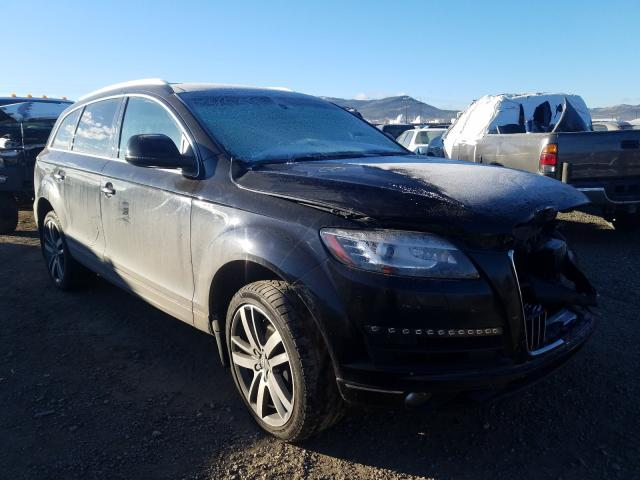 Salvage cars for sale from Copart Helena, MT: 2013 Audi Q7 Premium