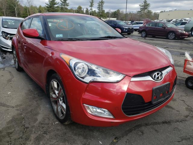 Salvage cars for sale from Copart Exeter, RI: 2016 Hyundai Veloster