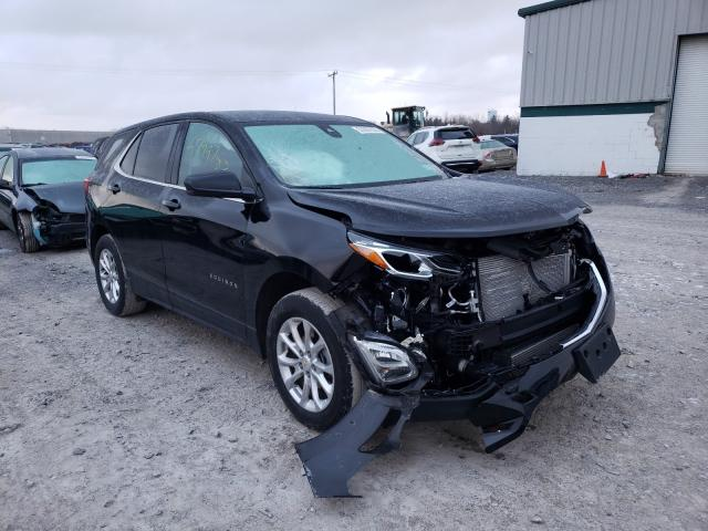 Salvage cars for sale from Copart Leroy, NY: 2020 Chevrolet Equinox LT