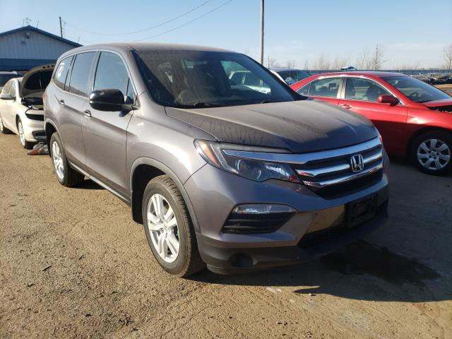 Salvage cars for sale from Copart Pekin, IL: 2016 Honda Pilot LX