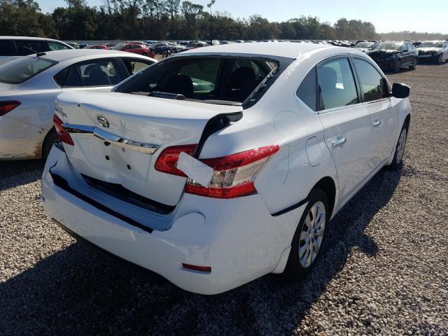 цена в сша 2015 Nissan Sentra S 1.8L 3N1AB7AP5FY373863