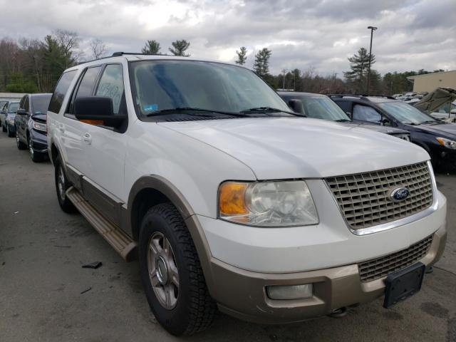 Salvage cars for sale from Copart Exeter, RI: 2004 Ford Expedition