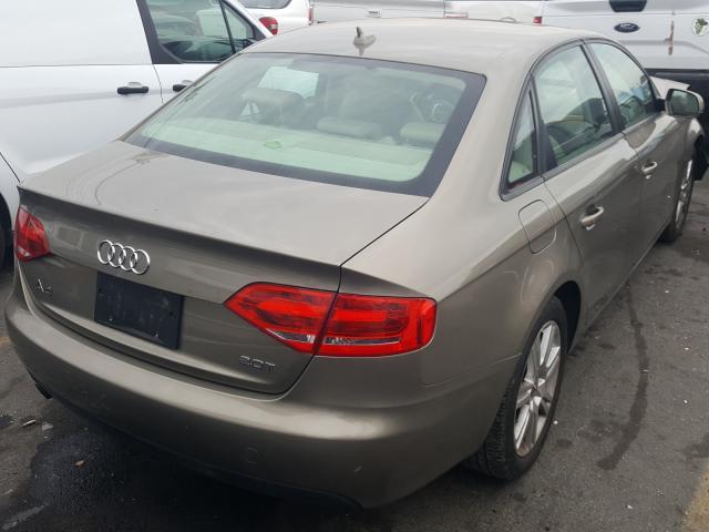 цена в сша 2010 Audi A4 Premium 2.0L WAUAFAFL0AN030000