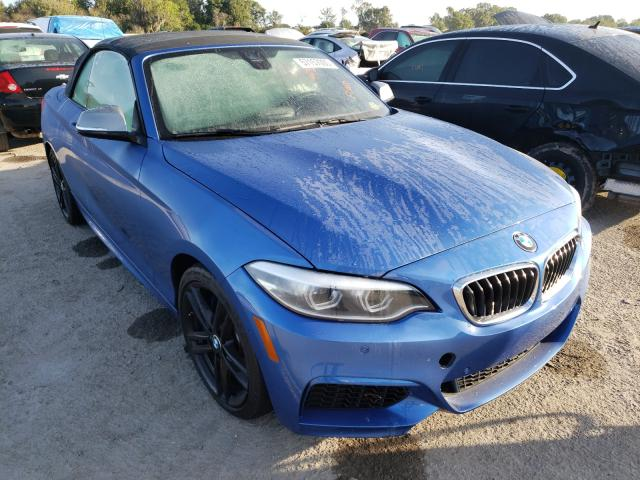 BMW M240I salvage cars for sale: 2018 BMW M240I