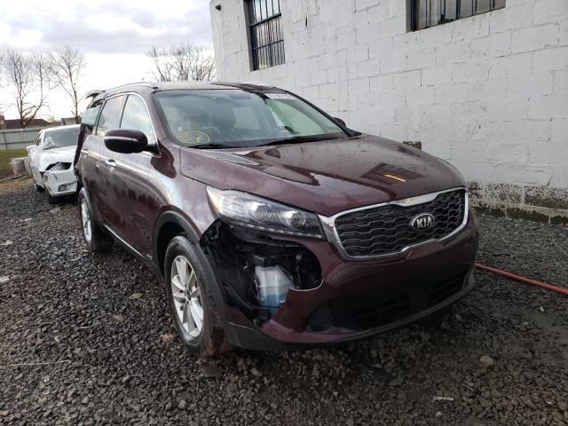 Salvage cars for sale from Copart Hillsborough, NJ: 2020 KIA Sorento L